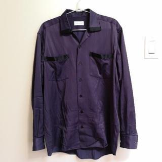 ジョンローレンスサリバン(JOHN LAWRENCE SULLIVAN)のlittle big open callor shirt オープンカラーシャツ(シャツ)
