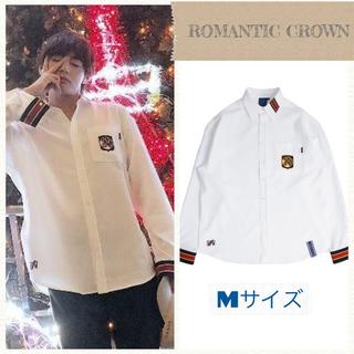 ボウダンショウネンダン(防弾少年団(BTS))のromanticcrown BTS テテ着用  shirt Mサイズ  (シャツ)