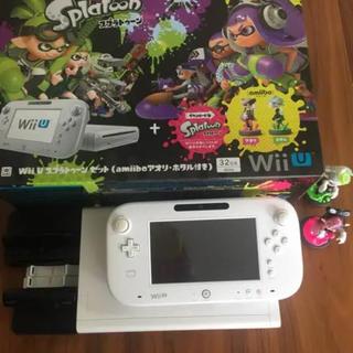 ウィーユー(Wii U)のWiiU スプラトゥーンセット(家庭用ゲーム機本体)