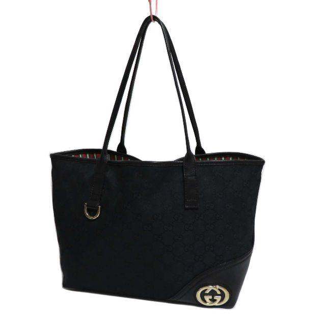 Gucci - グッチ ニューブリット GGキャンバス トート バッグ 169946の通販 by R♡mama's shop|グッチならラクマ