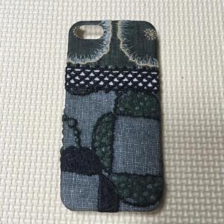 ミナペルホネン(mina perhonen)のミナペルホネン iPhoneSE 新品未使用 オーダーメイド(iPhoneケース)