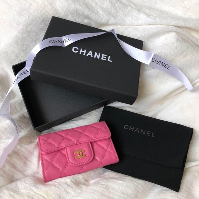CHANEL - シャネル CHANEL コインカードケースの通販 by sarha's shop|シャネルならラクマ