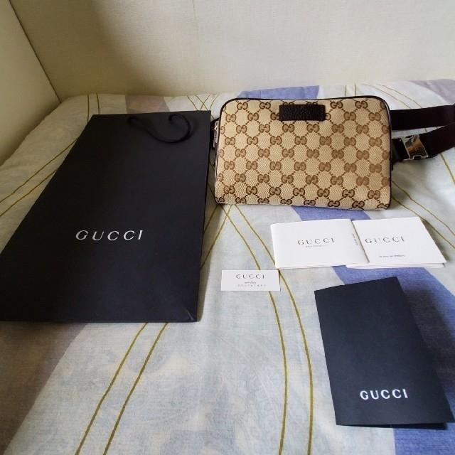 Gucci - 【確実正規品】GUCCI ボディーバックの通販 by あいうえお's shop|グッチならラクマ