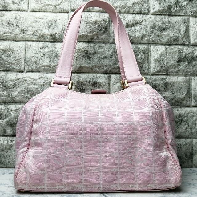 CHANEL - ★値下げ!★シャネル ニュートラベルライン ハンドバッグ ピンクの通販 by ブランド's shop|シャネルならラクマ