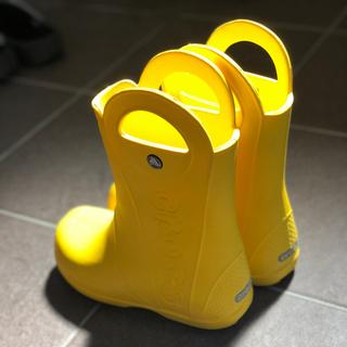 クロックス(crocs)のクロックス 長靴 黄色 イエロー J3(長靴/レインシューズ)