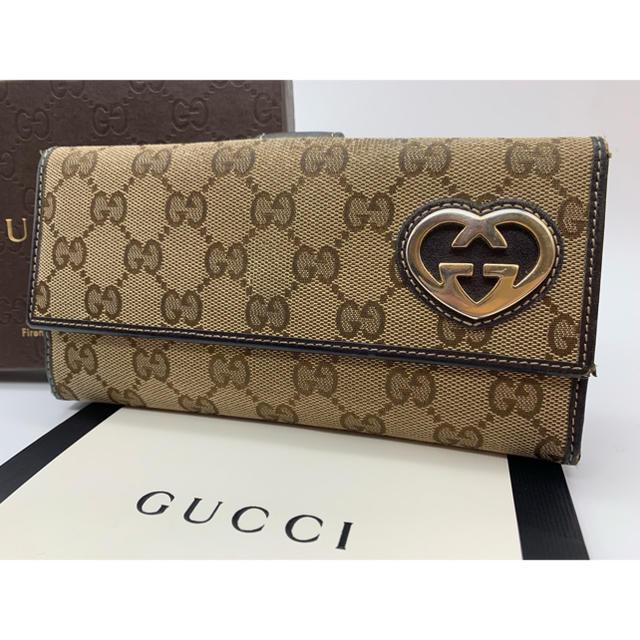 Gucci - ‼️正規品‼️ GUCCI グッチ GGキャンバス ホック 長財布の通販 by ヨッピー's shop|グッチならラクマ