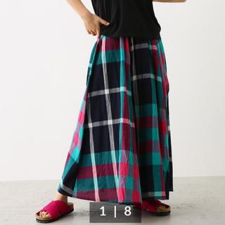 ロデオクラウンズワイドボウル(RODEO CROWNS WIDE BOWL)のロデオクラウンズ チェックロングスカート(ロングスカート)