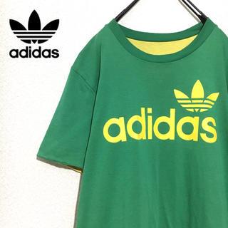 アディダス(adidas)の【レア】adidas リバーシブル Tシャツ トレフォイルロゴ(Tシャツ/カットソー(半袖/袖なし))