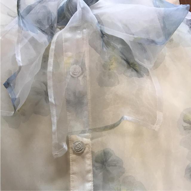 LIZ LISA(リズリサ)のリズリサシフォンスカート レディースのスカート(ひざ丈スカート)の商品写真