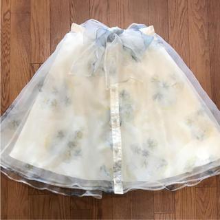 リズリサ(LIZ LISA)のリズリサシフォンスカート(ひざ丈スカート)