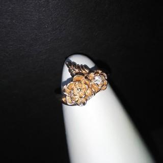 925☆バラとストーンのシルバーリング(リング(指輪))