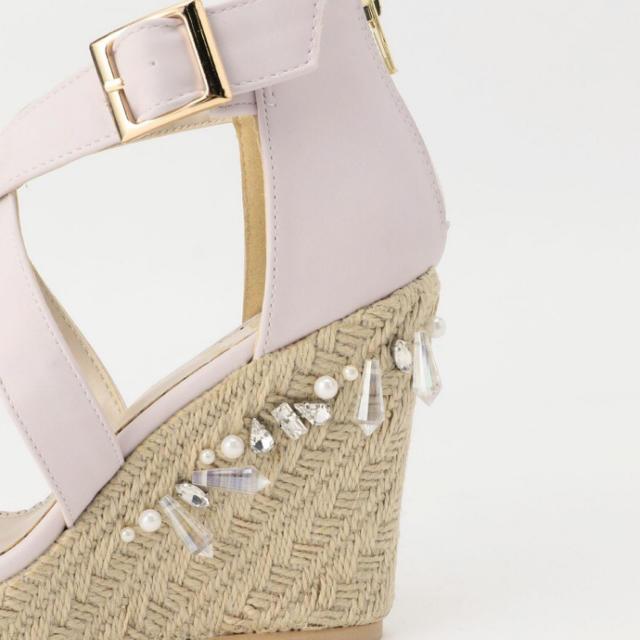 MISCH MASCH(ミッシュマッシュ)のミッシュマッシュ ❤️グランムールビジューサンダル レディースの靴/シューズ(サンダル)の商品写真