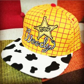 トイストーリー(トイ・ストーリー)のトイストーリー4 帽子 キャップ ウッディ グッズ ファッション ピクサー(キャップ)