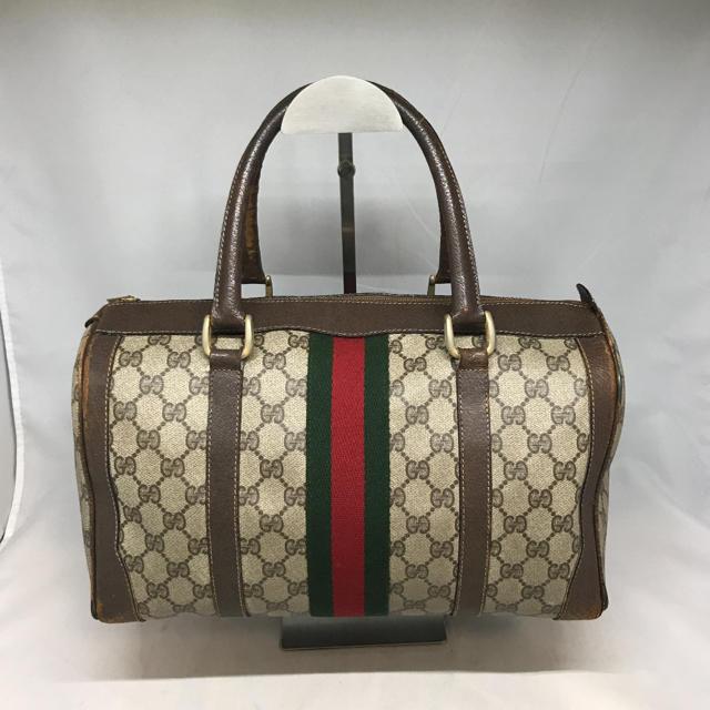 Gucci - オールドグッチ GUCCI ボストンバッグ ハンドバッグの通販 by Reuse Store LOOP|グッチならラクマ
