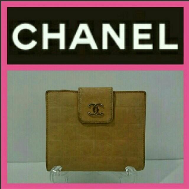 腕時計 ランキング 、 CHANEL - CHANEL 折り財布 アイコン ベージュ色の通販 by なかの屋|シャネルならラクマ