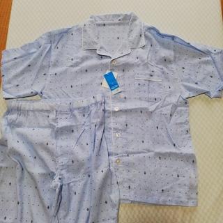シマムラ(しまむら)の新品 半袖長ズボンパジャマ メンズ4Lサイズ(その他)