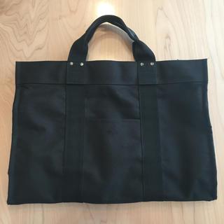 ムジルシリョウヒン(MUJI (無印良品))の黒のカバン(トートバッグ)