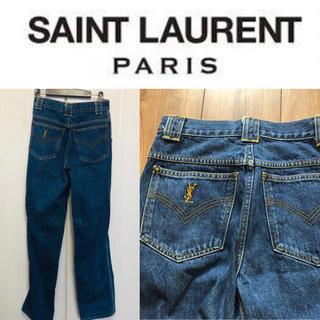 サンローラン(Saint Laurent)の☆セールよりお得♪イブ サンローラン インディゴ デニム(デニム/ジーンズ)