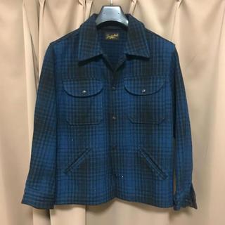 テンダーロイン(TENDERLOIN)のテンダーロイン ウールチェックシャツジャケット(ブルゾン)