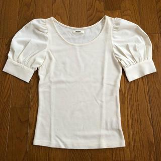 スナイデル(snidel)のTシャツ オフホワイト(Tシャツ/カットソー(半袖/袖なし))