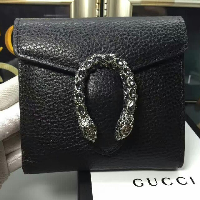 Gucci - Gucciグッチ 折り財布 レディース ブラック新品の通販 by タクミ 's shop|グッチならラクマ