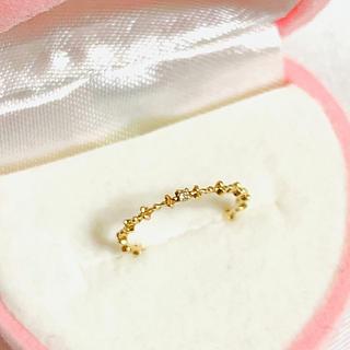 jupiter GOLD LABEL - 美品✨jupiter ジュピター K10 ダイヤ0.007 ピンキーリング
