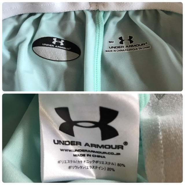 UNDER ARMOUR(アンダーアーマー)のアンダーアーマー ショートパンツ ミントグリーン レディースのパンツ(ショートパンツ)の商品写真