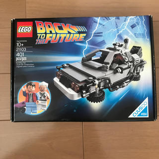 レゴ(Lego)の新品 デロリアン 21103 バックトゥザフューチャー LEGO(電車のおもちゃ/車)