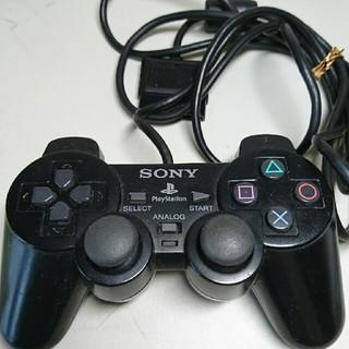 プレイステーション2(PlayStation2)のPS2 コントローラー デュアルショック2 ブラック(家庭用ゲーム本体)