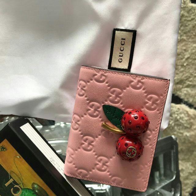 Gucci - GUCCI 財布 さくらんぼの通販 by あや's shop|グッチならラクマ