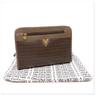マリオバレンチノ(MARIO VALENTINO)の美品■MARIO VALENTINO ヴァレンティノ セカンドバッグ 保護袋付き(セカンドバッグ/クラッチバッグ)