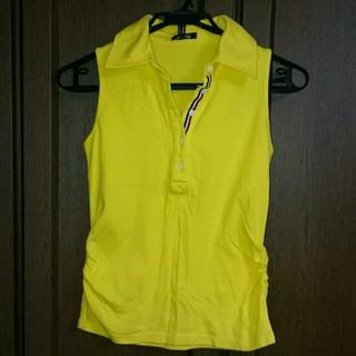 シマムラ(しまむら)のスポカジ  ノースリーブ ポロシャツ(カットソー(半袖/袖なし))