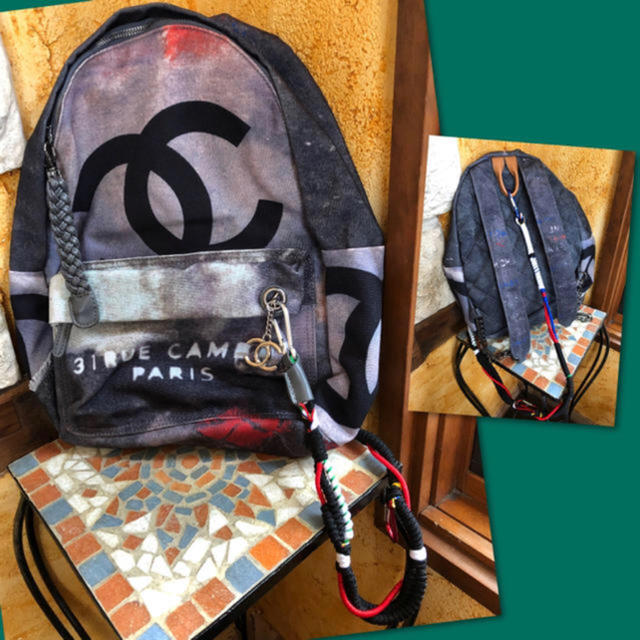 CHANEL - ♢CHANEL 2014年春夏コレクションリュックサック バッグパック 正規品★の通販 by ( •8• )  shop|シャネルならラクマ