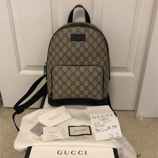 Gucci - 本物 グッチ リュックの通販 by Mina 's shop|グッチならラクマ