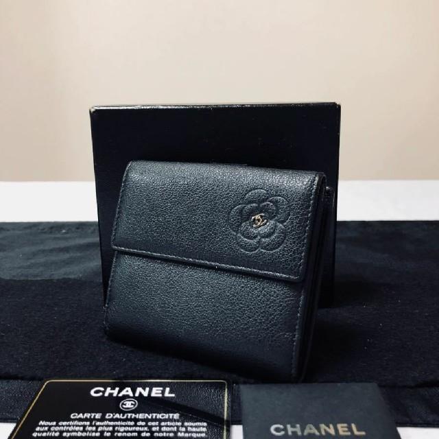 セリーヌショルダーバッグ・ポシェット偽物 - CHANEL - ♥️極上美品 CHANEL カメリエ 2つ折り 財布 ヴィトン  グッチ好きにもの通販 by 在庫処分セール|シャネルならラクマ