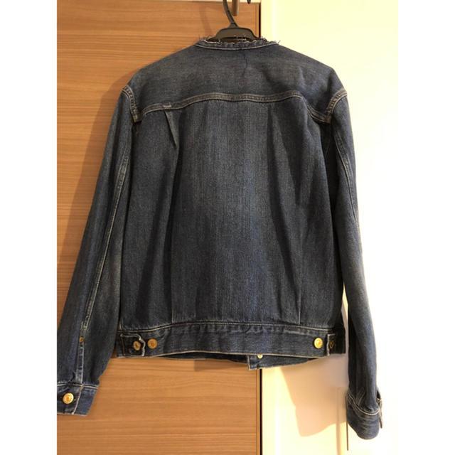 IENA(イエナ)のリメイクタックデニムブルゾン レディースのジャケット/アウター(Gジャン/デニムジャケット)の商品写真