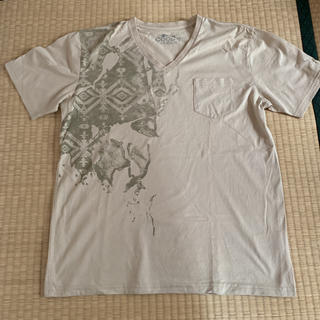 マウジー(moussy)の新品☆メンズ ネイティブ柄風Tシャツ(Tシャツ/カットソー(半袖/袖なし))