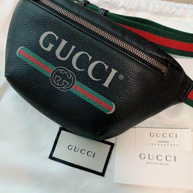 Gucci - GUCCI ウエストポーチ ベルトバッグの通販 by yukina's shop|グッチならラクマ