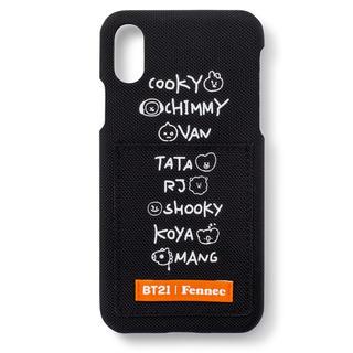 ボウダンショウネンダン(防弾少年団(BTS))のBT21 モバイルケース 携帯ケース(iPhoneケース)