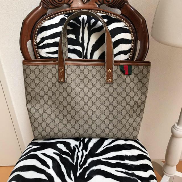 Gucci - グッチ トートバッグ の通販 by ネオハナ's shop|グッチならラクマ