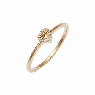 アーカー(AHKAH)のアーカー ダイヤモンド リング k18(リング(指輪))