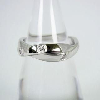 ヴァンドームアオヤマ(Vendome Aoyama)のVENDOME K18 ダイヤモンド リング 11号 [f21-8](リング(指輪))