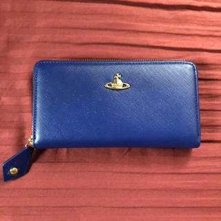 ヴィヴィアンウエストウッド(Vivienne Westwood)の【新品・未使用】Westwood ヴィヴィアンウエストウッド 長財布 青(財布)