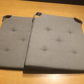 IKEA - IKEA チェアパット クッション 2枚セット
