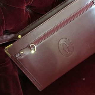 カルティエ(Cartier)の送料込み マストカルティエ セカンドバッグ(ビジネスバッグ)