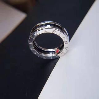 ブルガリ(BVLGARI)の【BVLGARI】SAVE TEH CHILDREN 54 ブラックセラミックリ(リング(指輪))