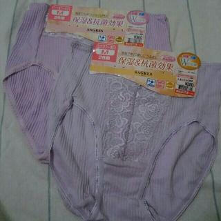 しまむら - パンツ  四枚  4枚  Mサイズ 薄むらさき  パープル 紫色