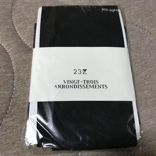ニジュウサンク(23区)の新品 未開封 23区 レギンス ストッキング タイツ(タイツ/ストッキング)