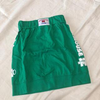 ミキハウス(mikihouse)のミキハウス スカート 80〜90 旧タグ 美品(スカート)
