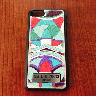 エミリオプッチ(EMILIO PUCCI)の【貴重】エミリオプッチ iPhone7 ケース(iPhoneケース)